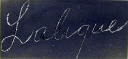 Dating lalique signatures